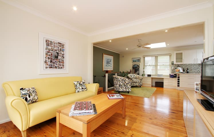 bright, comfortable family home