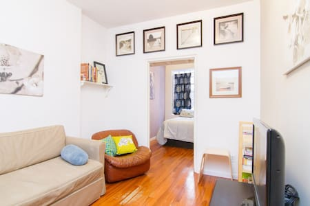 Real 1 BR in Trendy Two Bridges/LES - New York - Apartment