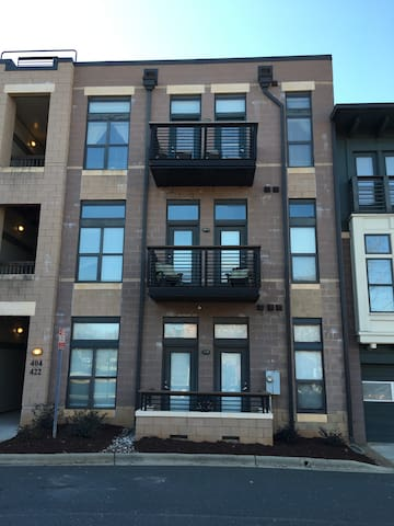 1 BR condo in Historic South End - Charlotte - Apartemen