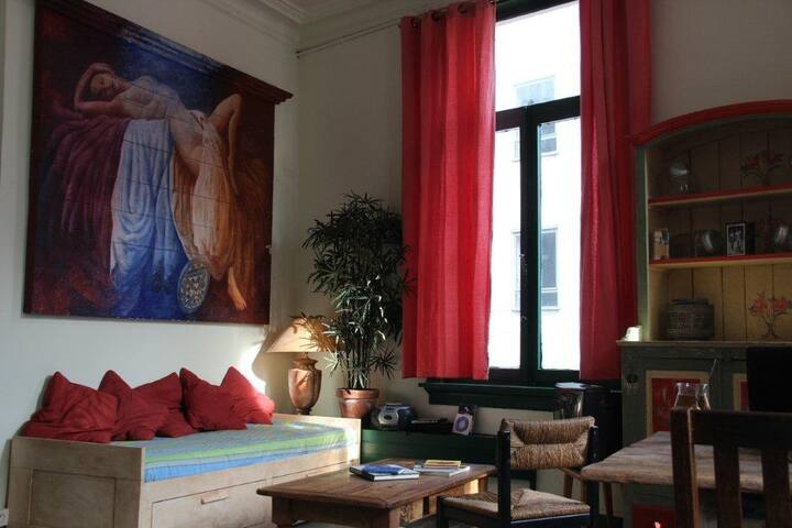 Bohemian apartment in Antwerp Town - Antwerpen - Appartement