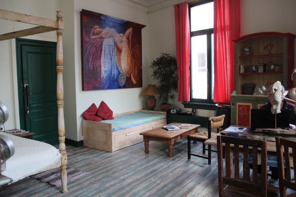 Bohemian apartment in Antwerp Town