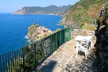 Best seaview of Vernazza from your private terrace