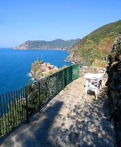 Room with seaview terrace3 Vernazza - ヴェルナッツァ - アパート