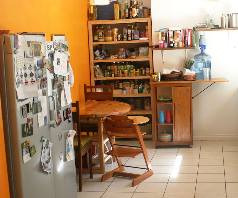 Fully-stocked kitchen. House staff available on request, by prior arrangement