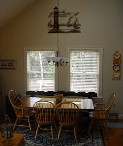Maine lakefront 3 bdrm 4 season - Newfield - House