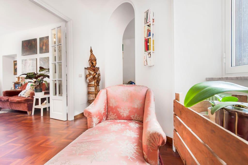 Rome Center Charming Vintage House