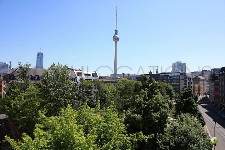 Top Roof In Berlin Mitte Alexview Apartments For Rent In