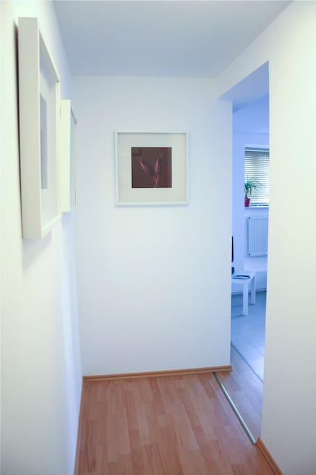 Eingangsbereich zur Wohnung