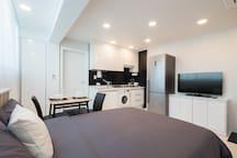 Kitchen & TV & Table