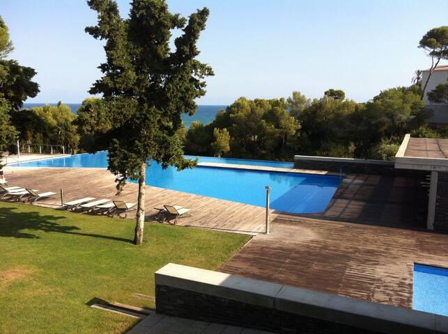 Dúplex lujo vistas al mar en Sitges - Sant Pere de Ribes