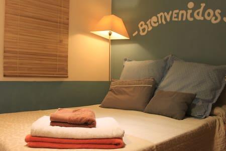 Habitación doble con baño privado - Valencia - Wohnung