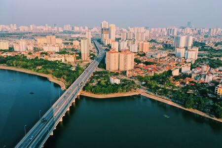 A high beautiful apartment in Hanoi