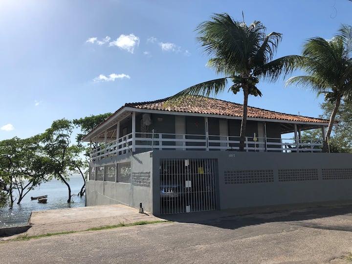 Linda Casa de veraneio a beira Mar em Salinópolis