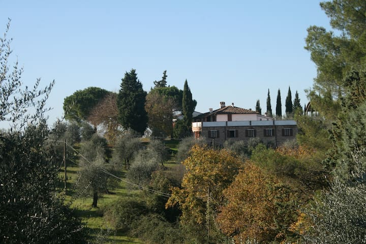Typical farmhouse in Tuscany near F
