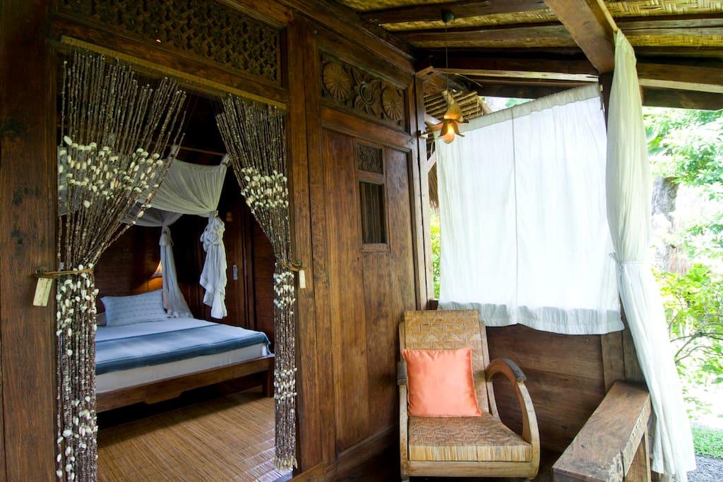 Javanese traditional barn house