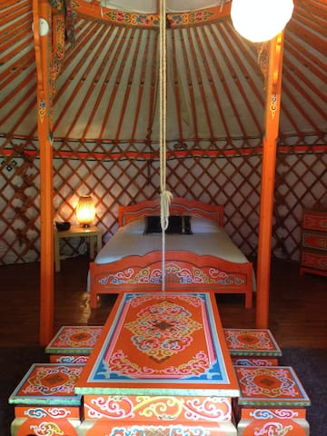 Yourte Mongole - Pierrefitte-ès-Bois - Yurt