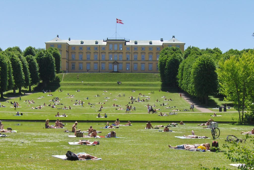 Frederiksberg Garden is situated a few hundred meters from my flat! It is lovely during summer.