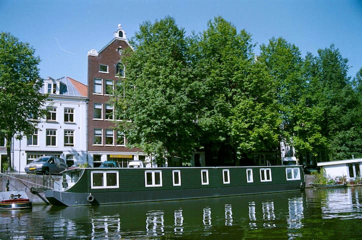 Houseboat apartment; top central location! - Amsterdam - Boot