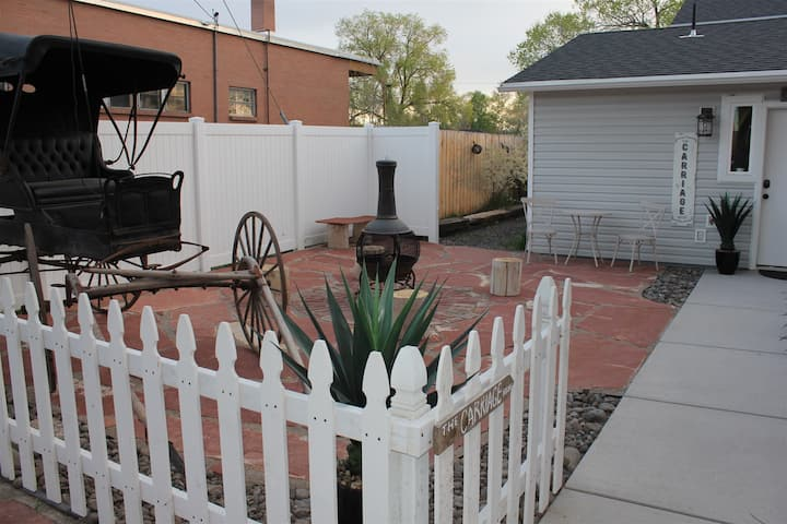 New this fall - The Carriage House - newely added apartment with one bedroom / one bath