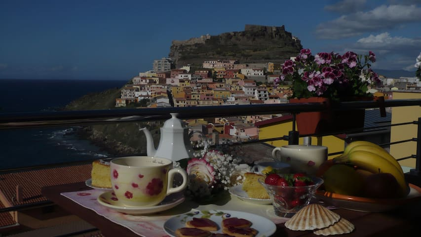 SPLENDIDO PANORAMA SUL GOLFO.... - Castelsardo - Bed & Breakfast