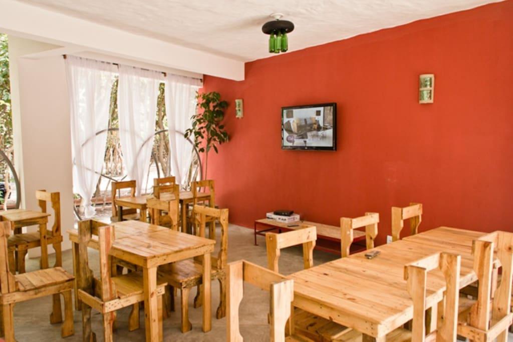 Sala de TV e Cafe da manhâ