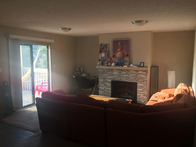 Private room in cosy apartment on the lake shore - Gainesville - Byt