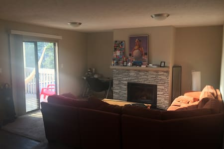 Private room in cosy apartment on the lake shore - Gainesville - Daire