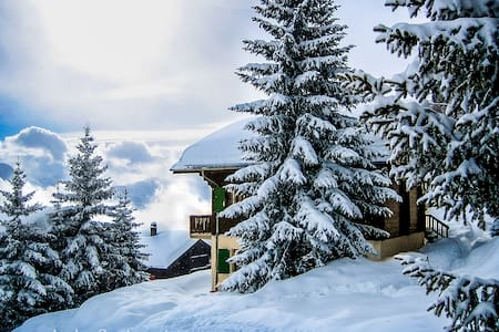 A Charming and Comfortable Chalet - Riederalp - Alpehytte