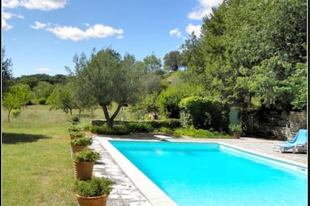 Villa Provence 14+ sleeps swim.pool - Saint-Christol-de-Rodières - Villa