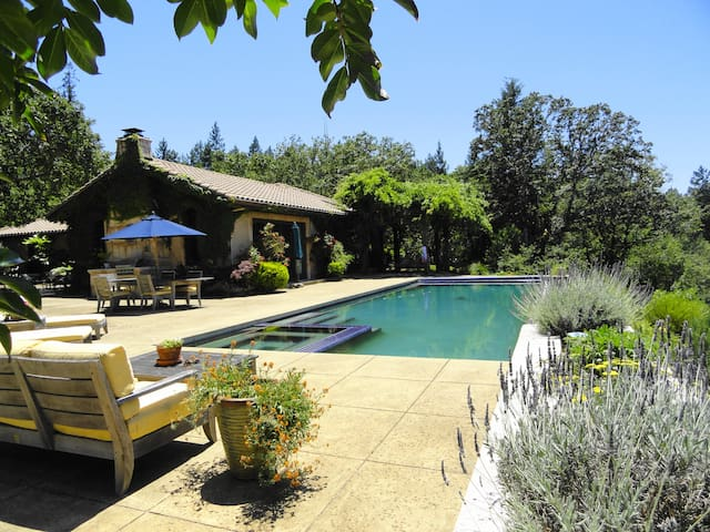 Secluded Vineyard Estate Healdsburg