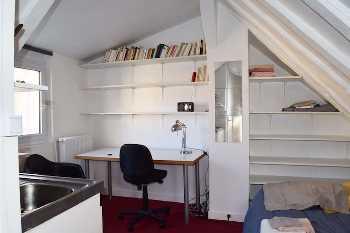 Charmant studio quartier Censier-Mouffetard