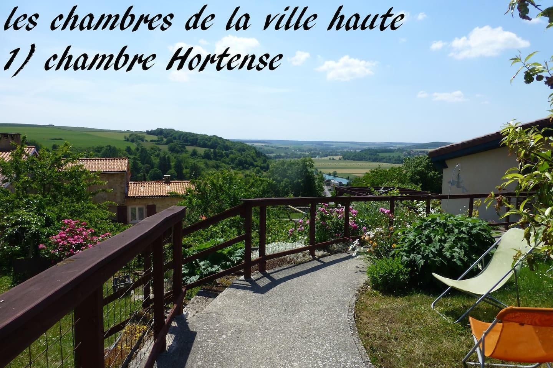 Chambre Hortense 3épis écogîte
