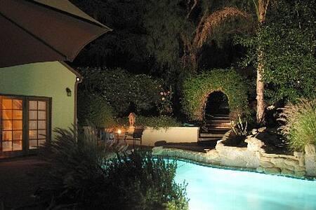 Beautiful Guesthouse with pool/Jacuzzi in Mountain - Topanga
