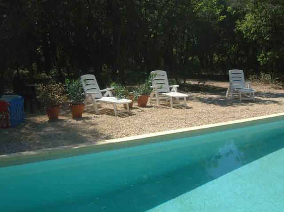 La tres grande peyriere wooded property pool houses for Pool show 5168