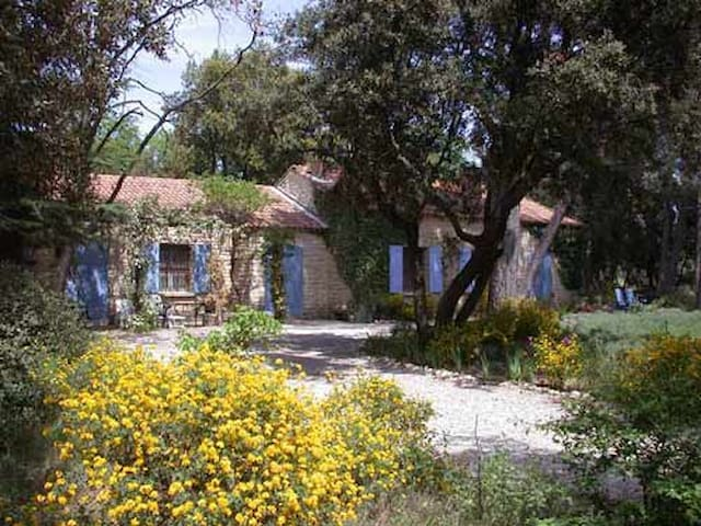 La Grande Peyriere - Stone Villa - Mazan