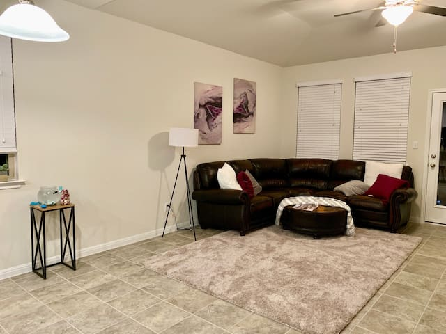 Shared Downstairs Living/Lounge area.