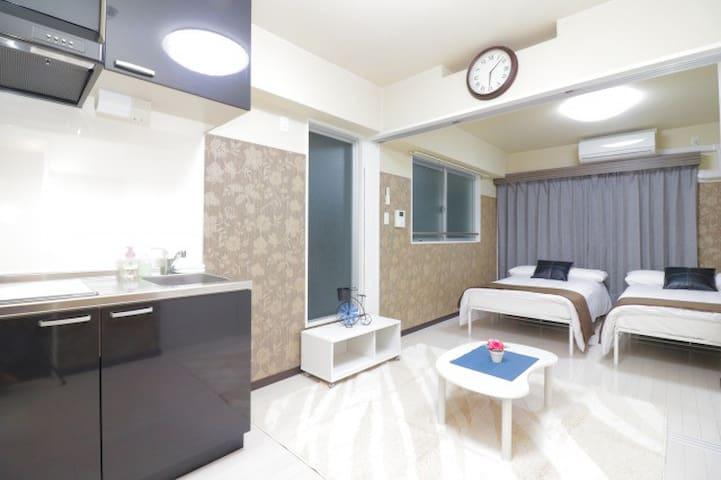 【MR503】OSAKA CENTER/Nippombashi/Namba/Perfect Stay - Chūō-ku, Ōsaka-shi - Apartamento