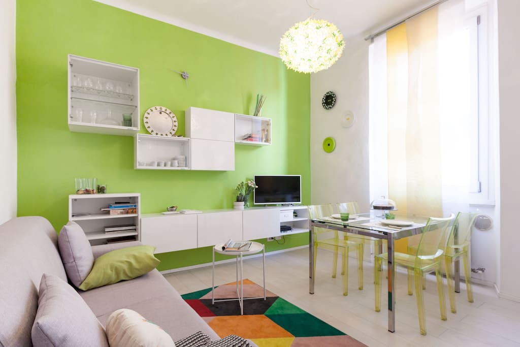 Stylish flat close to porta romana flats for rent in - Bed and breakfast porta romana milano ...