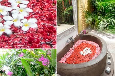 Bali open-House in garden, Seminyak