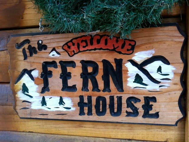 The Fern House!