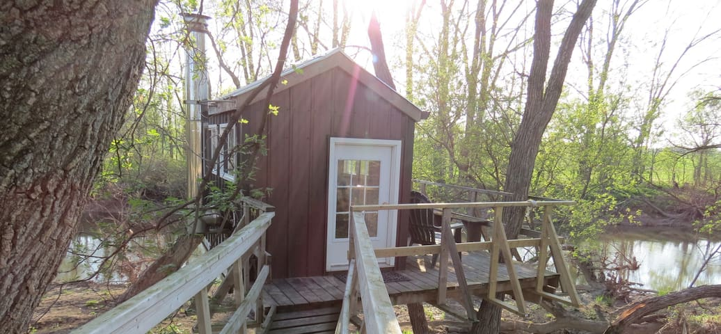 River Treehouse on the Sydenham