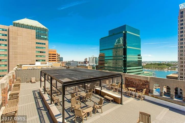 Luxury 1-bedroom in Baltimore's Inner Harbor - Baltimore - Byt