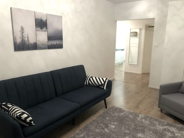 Modern, spacious two-room city centre apartment