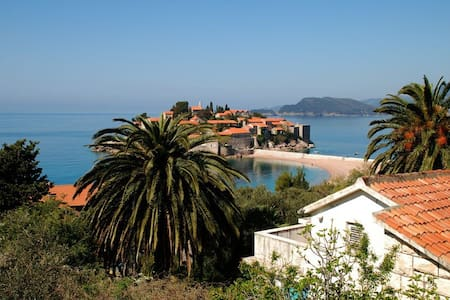 Onebedroom apartment (2+2)-view on Sveti Stefan #1 - Sveti Stefan - 公寓