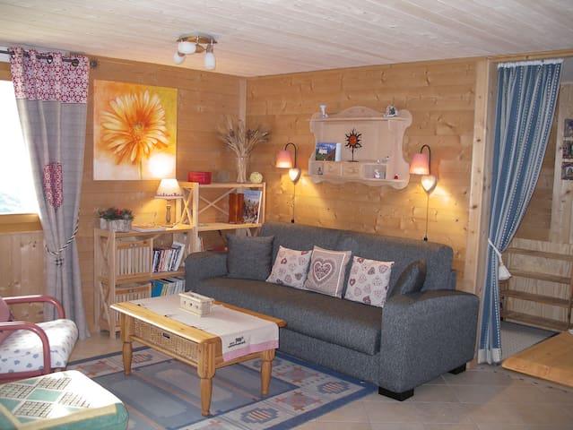 Douillet appartement Val d'Hérens - Vernamiège - Apartment