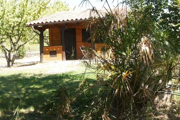 Cabaña de madera 4 plazas en el Valle del Jerte