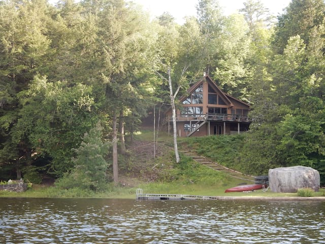 Paradox Lake Adirondack Rental, Amazing Lake Views