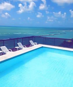 Lindo Flat à Beira-mar - Olinda - Appartement