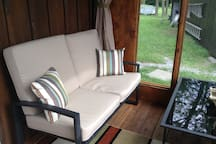 Waterview porch couch