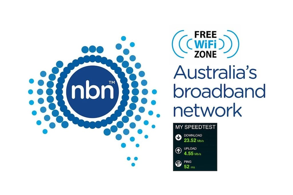 High Speed NBN WiFi  Internet Available